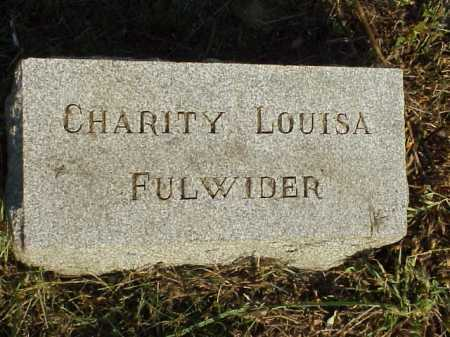 WELLS FULWIDER, CHARITY LOUSIA - Meigs County, Ohio | CHARITY LOUSIA WELLS FULWIDER - Ohio Gravestone Photos