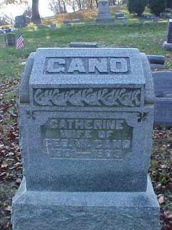 GANO, CATHERINE - Meigs County, Ohio | CATHERINE GANO - Ohio Gravestone Photos