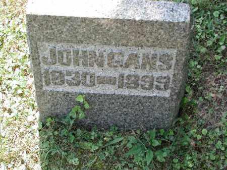 GANS, JOHN - Meigs County, Ohio   JOHN GANS - Ohio Gravestone Photos