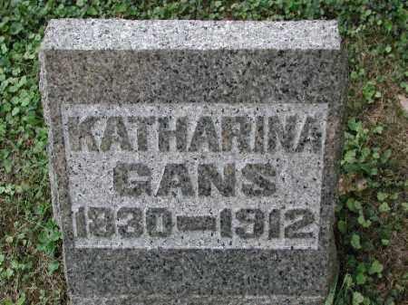 GANS, KATHARINA - Meigs County, Ohio | KATHARINA GANS - Ohio Gravestone Photos