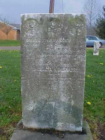 GARDENER, MATTHEW L. - Meigs County, Ohio   MATTHEW L. GARDENER - Ohio Gravestone Photos