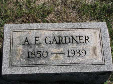 GARDNER, A. E. - Meigs County, Ohio | A. E. GARDNER - Ohio Gravestone Photos