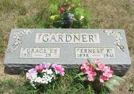 GARDNER, ERNEST R. - Meigs County, Ohio   ERNEST R. GARDNER - Ohio Gravestone Photos