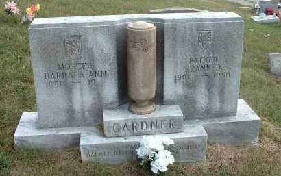 GARDNER, BARBARA ANN - Meigs County, Ohio   BARBARA ANN GARDNER - Ohio Gravestone Photos