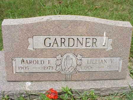 GARDNER, LILLIAN V. - Meigs County, Ohio | LILLIAN V. GARDNER - Ohio Gravestone Photos