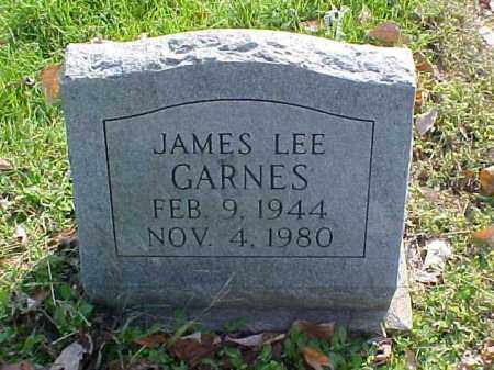 GARNES, JAMES LEE - Meigs County, Ohio | JAMES LEE GARNES - Ohio Gravestone Photos