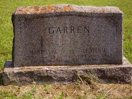 GARREN, MARTHA M. - Meigs County, Ohio | MARTHA M. GARREN - Ohio Gravestone Photos
