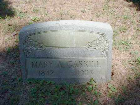GASKILL, MARY A. - Meigs County, Ohio | MARY A. GASKILL - Ohio Gravestone Photos