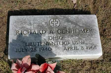 GENHEIMER, RICHARD ALLEN - Meigs County, Ohio | RICHARD ALLEN GENHEIMER - Ohio Gravestone Photos