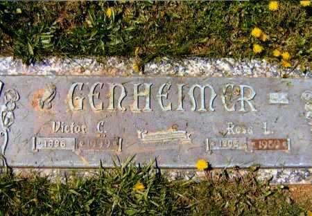 GENHEIMER, VICTOR CLEMENT - Meigs County, Ohio | VICTOR CLEMENT GENHEIMER - Ohio Gravestone Photos