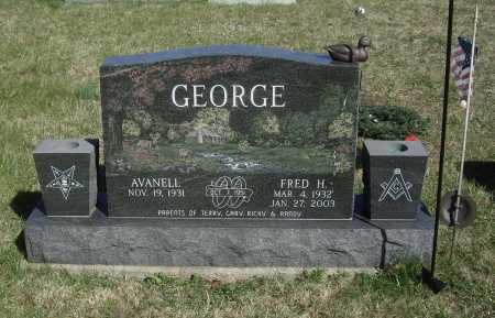 GEORGE, FRED H. - Meigs County, Ohio | FRED H. GEORGE - Ohio Gravestone Photos