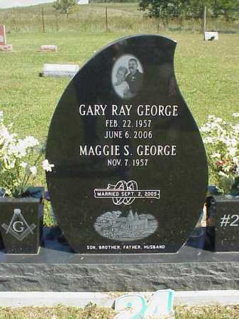 GEORGE, MAGGIE S. - Meigs County, Ohio   MAGGIE S. GEORGE - Ohio Gravestone Photos