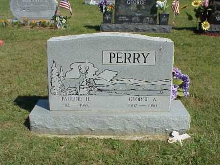 GEORGE, GEORGE A. - Meigs County, Ohio | GEORGE A. GEORGE - Ohio Gravestone Photos