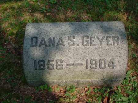 GEYER, DANA S. - Meigs County, Ohio | DANA S. GEYER - Ohio Gravestone Photos