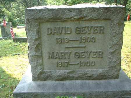 GEYER, MARY - Meigs County, Ohio | MARY GEYER - Ohio Gravestone Photos