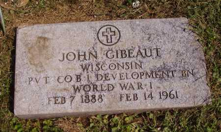 GIBEAUT, JOHN - Meigs County, Ohio | JOHN GIBEAUT - Ohio Gravestone Photos