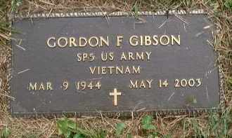 GIBSON, GORDON FERN - Meigs County, Ohio | GORDON FERN GIBSON - Ohio Gravestone Photos