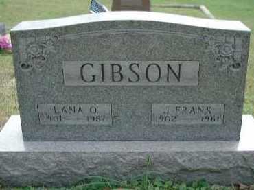 GIBSON, LANA OLIVE - Meigs County, Ohio | LANA OLIVE GIBSON - Ohio Gravestone Photos