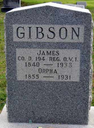 GIBSON, ORPHA A - Meigs County, Ohio | ORPHA A GIBSON - Ohio Gravestone Photos
