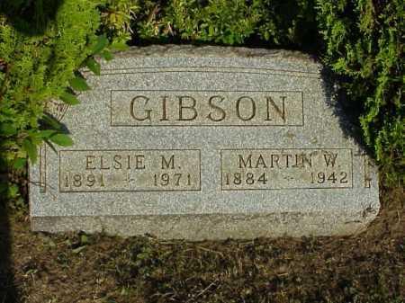 GIBSON, ELSIE M. - Meigs County, Ohio | ELSIE M. GIBSON - Ohio Gravestone Photos
