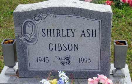 ASH GIBSON, SHIRLEY - Meigs County, Ohio | SHIRLEY ASH GIBSON - Ohio Gravestone Photos