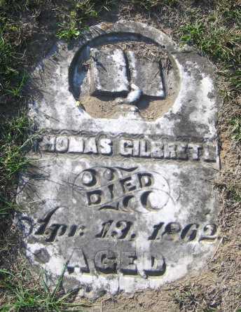 GILBRETH, THOMAS - Meigs County, Ohio | THOMAS GILBRETH - Ohio Gravestone Photos