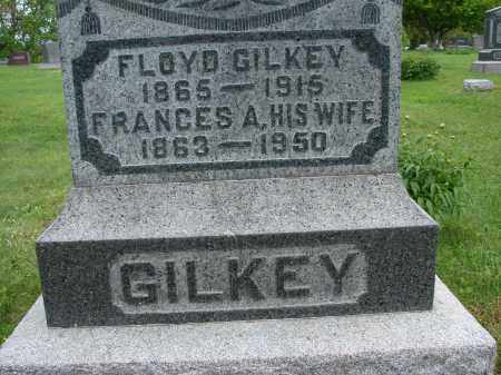 GILKEY, FRANCES A - Meigs County, Ohio | FRANCES A GILKEY - Ohio Gravestone Photos