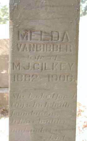 VANBIBBER GILKEY, MELDA - Meigs County, Ohio | MELDA VANBIBBER GILKEY - Ohio Gravestone Photos