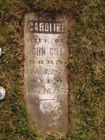 BISSELL GILL, CAROLINE - Meigs County, Ohio | CAROLINE BISSELL GILL - Ohio Gravestone Photos