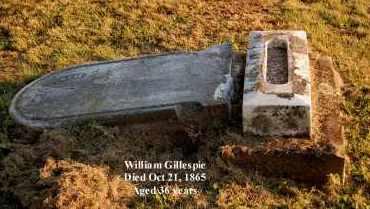 GILLESPIE, WILLIAM - Meigs County, Ohio | WILLIAM GILLESPIE - Ohio Gravestone Photos