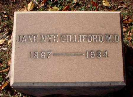 GILLIFORD, JANE, M.D. - Meigs County, Ohio | JANE, M.D. GILLIFORD - Ohio Gravestone Photos