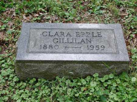 EPPLE GILLILAN, CLARA - Meigs County, Ohio | CLARA EPPLE GILLILAN - Ohio Gravestone Photos