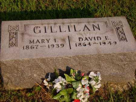 GILLILAN, DAVID E. - Meigs County, Ohio | DAVID E. GILLILAN - Ohio Gravestone Photos
