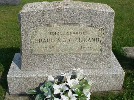 GILLILAND, CHARLES S. - Meigs County, Ohio   CHARLES S. GILLILAND - Ohio Gravestone Photos