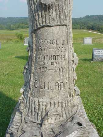 GILLILAND, GEORGE W. - Meigs County, Ohio | GEORGE W. GILLILAND - Ohio Gravestone Photos