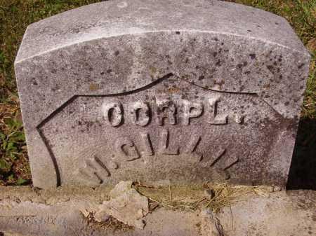 GILLILAND, GEORGE W. - MILITARY STONE - Meigs County, Ohio | GEORGE W. - MILITARY STONE GILLILAND - Ohio Gravestone Photos
