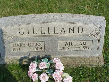 GILES GILLILAND, MARY - Meigs County, Ohio | MARY GILES GILLILAND - Ohio Gravestone Photos