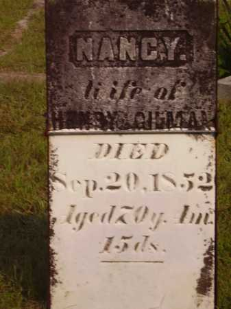 GILLMAN, NANCY - Meigs County, Ohio | NANCY GILLMAN - Ohio Gravestone Photos