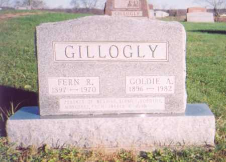GILLOGLY, FERN R. - Meigs County, Ohio | FERN R. GILLOGLY - Ohio Gravestone Photos