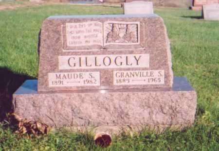 GILLOGLY, MAUDE S. - Meigs County, Ohio | MAUDE S. GILLOGLY - Ohio Gravestone Photos