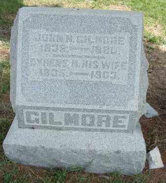 GILMORE, JOHN N. - Meigs County, Ohio   JOHN N. GILMORE - Ohio Gravestone Photos