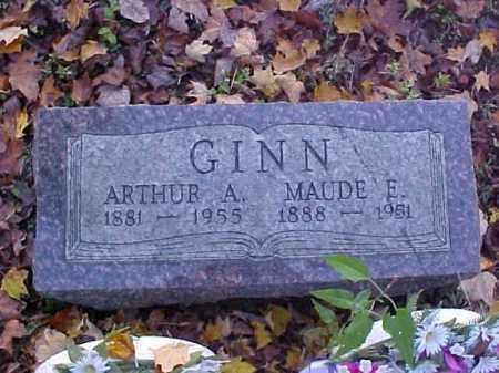 GINN, ARTHUR AUGUSTUS - Meigs County, Ohio | ARTHUR AUGUSTUS GINN - Ohio Gravestone Photos