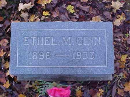 GINN, ETHEL M. - Meigs County, Ohio   ETHEL M. GINN - Ohio Gravestone Photos