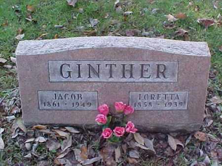 GINTHER, JACOB - Meigs County, Ohio | JACOB GINTHER - Ohio Gravestone Photos