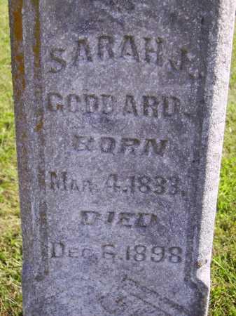 GODDARD, SARAH J. - Meigs County, Ohio | SARAH J. GODDARD - Ohio Gravestone Photos