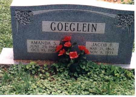 GOEGLEIN, AMANDA S. - Meigs County, Ohio | AMANDA S. GOEGLEIN - Ohio Gravestone Photos
