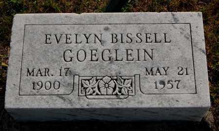 BISSELL GOEGLEIN, EVELYN - Meigs County, Ohio | EVELYN BISSELL GOEGLEIN - Ohio Gravestone Photos