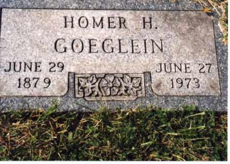 GOEGLEIN, HOMER H. - Meigs County, Ohio | HOMER H. GOEGLEIN - Ohio Gravestone Photos