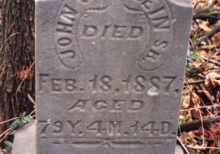 GOEGLEIN, JOHN SR. - Meigs County, Ohio | JOHN SR. GOEGLEIN - Ohio Gravestone Photos