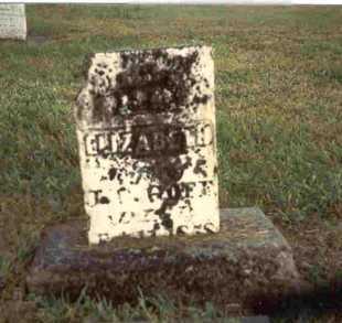 HOWELL GOFF, ELIZABETH - Meigs County, Ohio | ELIZABETH HOWELL GOFF - Ohio Gravestone Photos